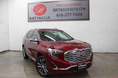 2018 GMC Terrain for sale at Battaglia Auto Sales in Plymouth Meeting PA