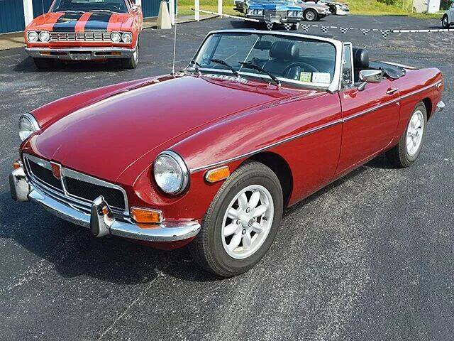 1974 MG MGB for sale at AB Classics in Malone NY