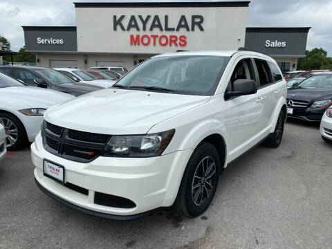 2018 Dodge Journey for sale at KAYALAR MOTORS in Houston TX