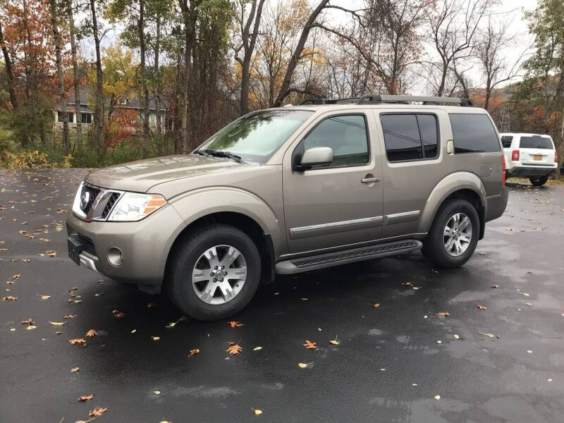 2008 Nissan Pathfinder for sale at AFFORDABLE AUTO SVC & SALES in Bath NY