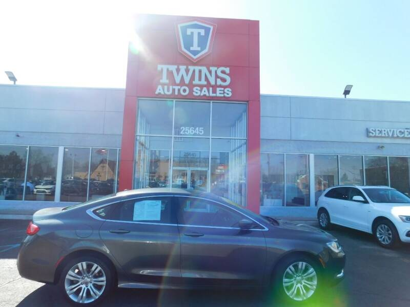 2015 Chrysler 200 for sale at Twins Auto Sales Inc Redford 1 in Redford MI