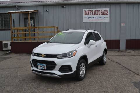 2017 Chevrolet Trax for sale at Dave's Auto Sales in Winthrop MN
