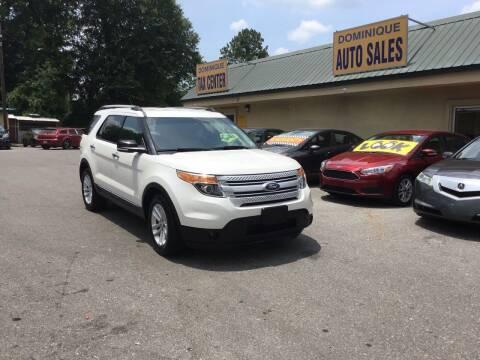 2014 Ford Explorer for sale at Dominique Auto Sales in Opelousas LA