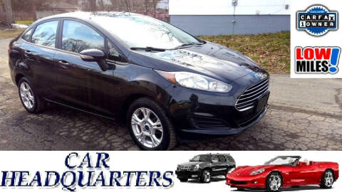 2015 Ford Fiesta for sale at CAR  HEADQUARTERS in New Windsor NY