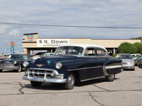 1953 Chevrolet 210 for sale at Iconic Motors of Oklahoma City, LLC in Oklahoma City OK