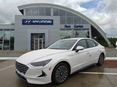 2021 Hyundai Sonata Hybrid for sale at Ron Carter  Clear Lake Used Cars in Houston TX