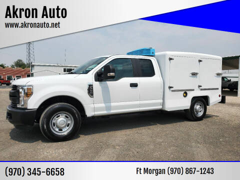 2019 Ford F-250 Super Duty for sale at Akron Auto in Akron CO