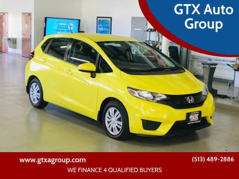 2016 Honda Fit for sale at GTX Auto Group in West Chester OH