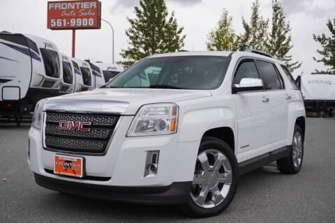 2013 GMC Terrain for sale at Frontier Auto & RV Sales in Anchorage AK