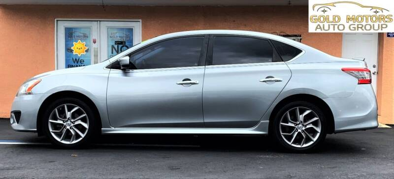 2013 Nissan Sentra for sale at Gold Motors Auto Group Inc in Tampa FL