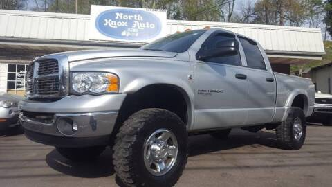 2004 Dodge Ram Pickup 3500 for sale at North Knox Auto LLC in Knoxville TN