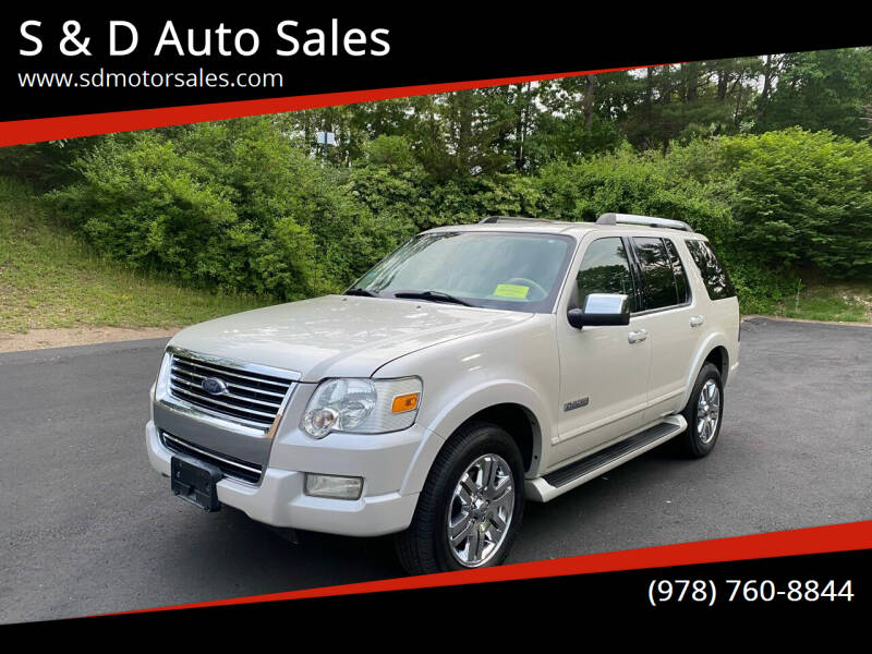 2006 Ford Explorer for sale at S & D Auto Sales in Maynard MA