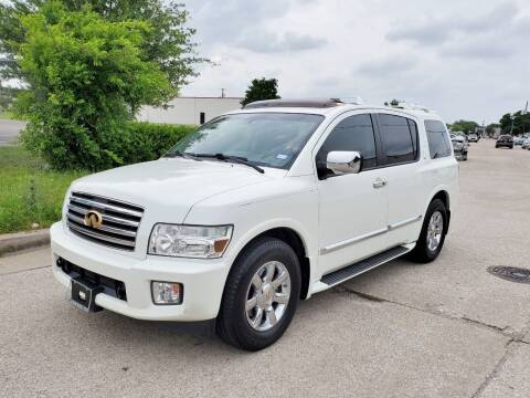 2006 Infiniti QX56 for sale at DFW Autohaus in Dallas TX