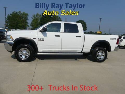 2017 RAM Ram Pickup 2500 for sale at Billy Ray Taylor Auto Sales in Cullman AL