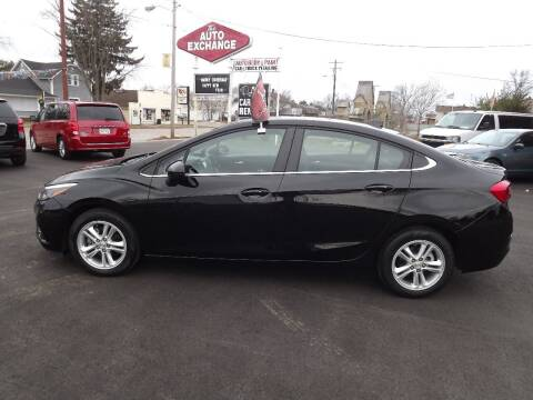 2016 Chevrolet Cruze for sale at The Auto Exchange in Stevens Point WI