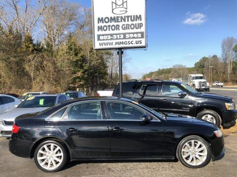 2013 Audi A4 for sale at Momentum Motor Group in Lancaster SC