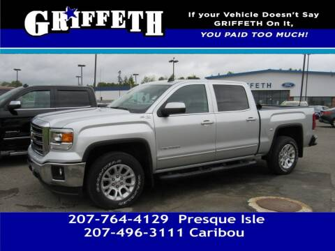 2014 GMC Sierra 1500 for sale at Griffeth Mitsubishi - Pre-owned in Caribou ME