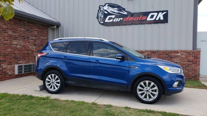 2017 Ford Escape for sale at Car Deals OK in Oklahoma City OK
