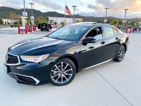 2018 Acura TLX for sale at Destination Motors in Temecula CA