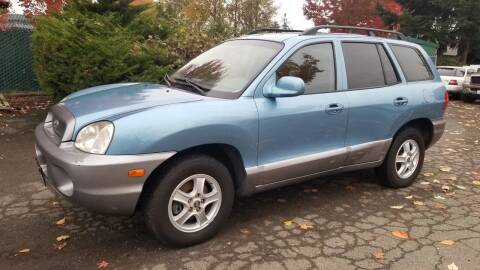 2003 Hyundai Santa Fe for sale at Car Guys in Kent WA