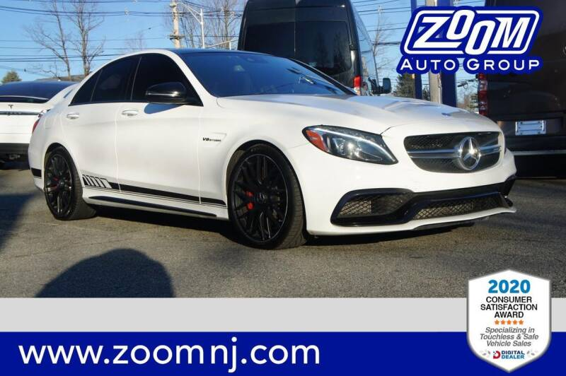 2017 Mercedes-Benz C-Class for sale at Zoom Auto Group in Parsippany NJ