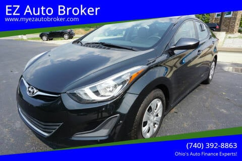 2016 Hyundai Elantra for sale at EZ Auto Broker in Mount Vernon OH