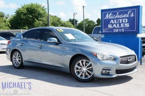 2015 Infiniti Q50 for sale at Michael's Auto Sales Corp in Hollywood FL