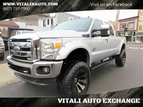 2012 Ford F-250 Super Duty for sale at VITALI AUTO EXCHANGE in Johnson City NY
