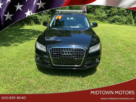 2014 Audi Q5 for sale at Midtown Motors in Greenbrier TN
