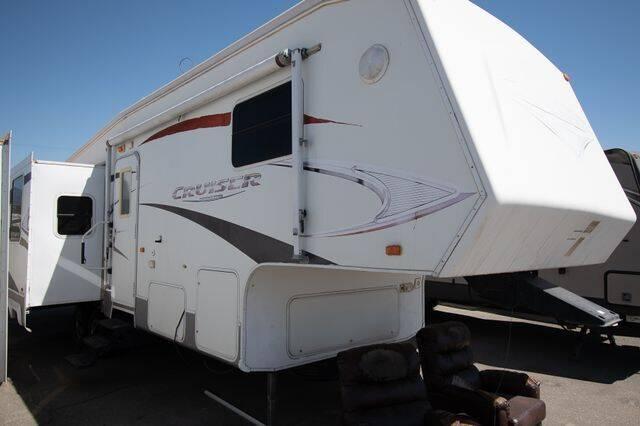 2008 Crossroads Cruiser Fifth Wheel for sale at GQC AUTO SALES in San Bernardino CA