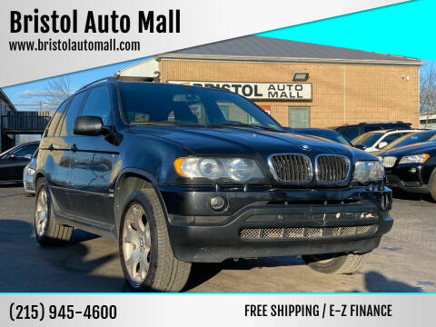 2002 BMW X5 for sale at Bristol Auto Mall in Levittown PA