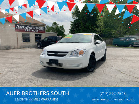 2008 Chevrolet Cobalt for sale at LAUER BROTHERS SOUTH in York PA