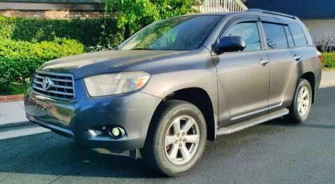 2008 Toyota Highlander for sale at Apollo Auto El Monte in El Monte CA