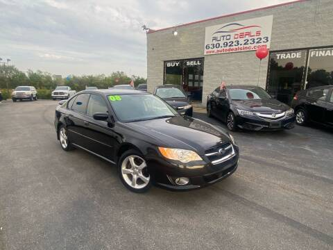 2008 Subaru Legacy for sale at Auto Deals in Roselle IL