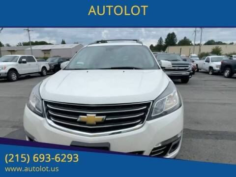 2015 Chevrolet Traverse for sale at AUTOLOT in Bristol PA