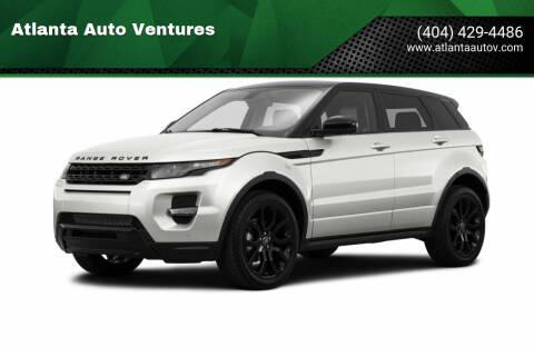 2015 Land Rover Range Rover Evoque for sale at Atlanta Auto Ventures in Roswell GA