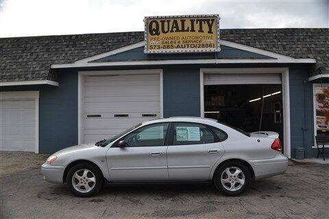 2004 Ford Taurus for sale at Quality Pre-Owned Automotive in Cuba MO