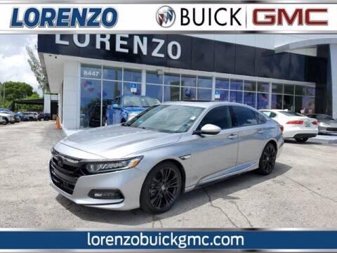 2020 Honda Accord for sale at Lorenzo Buick GMC in Miami FL