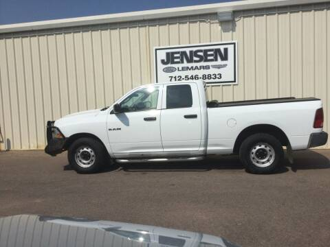 2010 Dodge Ram Pickup 1500 for sale at Jensen's Dealerships in Sioux City IA