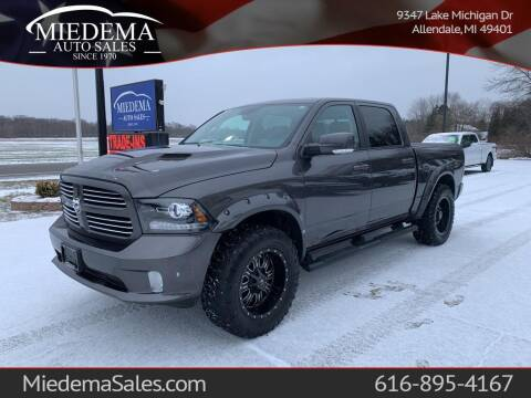 2016 RAM Ram Pickup 1500 for sale at Miedema Auto Sales in Allendale MI