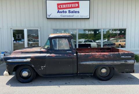 1959 Chevrolet Apache for sale at Certified Auto Sales in Des Moines IA