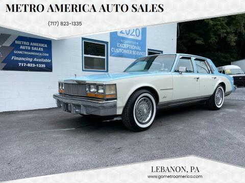 1978 Cadillac Seville for sale at METRO AMERICA AUTO SALES of Lebanon in Lebanon PA