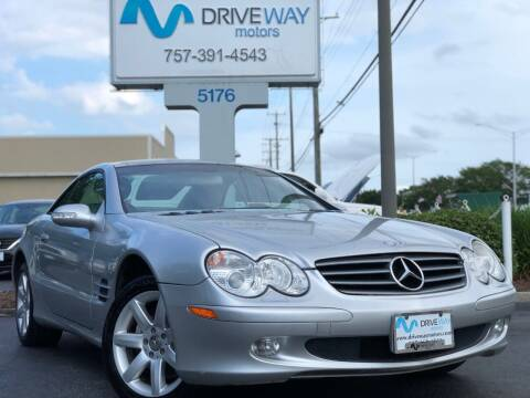 2003 Mercedes-Benz SL-Class for sale at Driveway Motors in Virginia Beach VA
