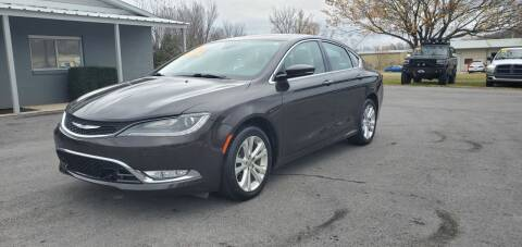 2015 Chrysler 200 for sale at Jacks Auto Sales in Mountain Home AR