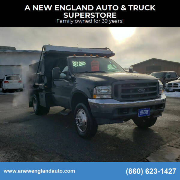 2003 Ford F-450 Super Duty for sale at A NEW ENGLAND AUTO & TRUCK SUPERSTORE in East Windsor CT