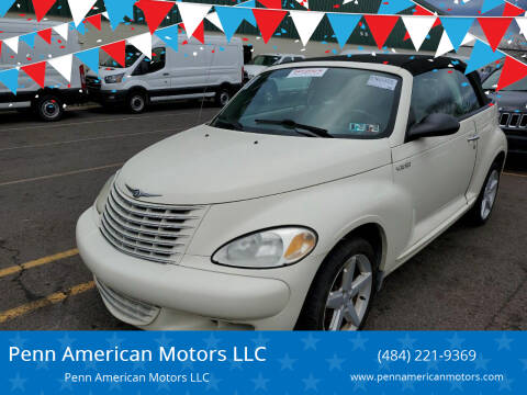 2005 Chrysler PT Cruiser for sale at Penn American Motors LLC in Allentown PA