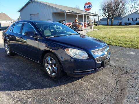 2009 Chevrolet Malibu for sale at CALDERONE CAR & TRUCK in Whiteland IN