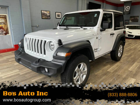 2018 Jeep Wrangler for sale at Bos Auto Inc in Quincy MA