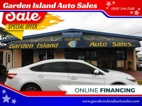 2014 Toyota Avalon Hybrid for sale at Garden Island Auto Sales in Lihue HI
