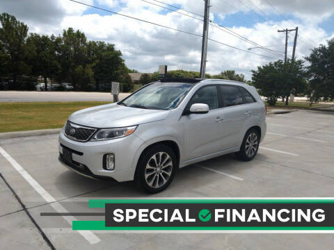 2014 Kia Sorento for sale at Solo Auto Group in Mckinney TX